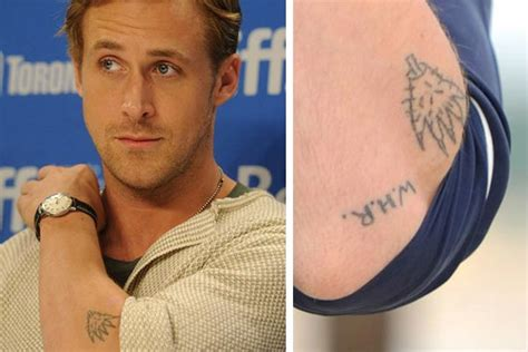 taye diggs tattoos 20 tattoos you wouldn t expect to see on these