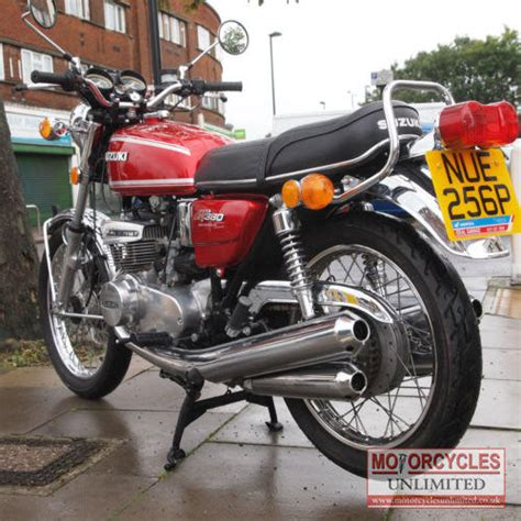 Suzuki Motorcycles For Sale 1976 Gt380 M Classic Suzuki For Sale Motorcycles Unlimited