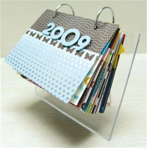 how to make handmade calendar 57 best scrapbooking a calendar images on
