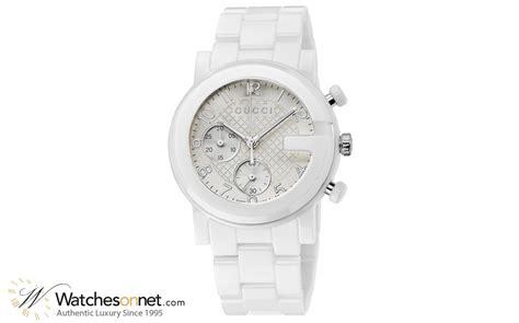 Gucci Ceramik Roundwhite T1310 3 gucci g chrono ya101353 s steel ceramic chronograph quartz