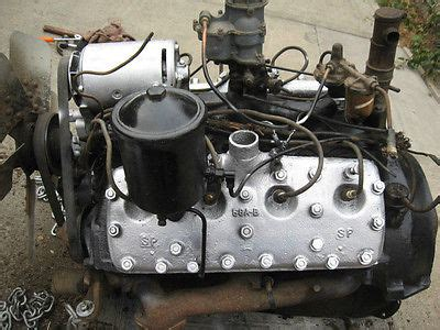 Ford Flathead V8 Identification Ford Flathead Engines And Parts Collection On Ebay