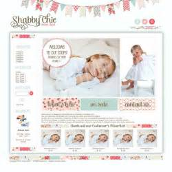 10 best images of shabby chic website templates free