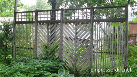 Privacy Screens For Backyards Garden Fence Amp Screen Privacy Ideas Empress Of Dirt