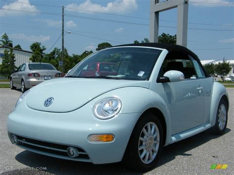 blue volkswagen convertible 2004 aquarius blue volkswagen new beetle gls convertible
