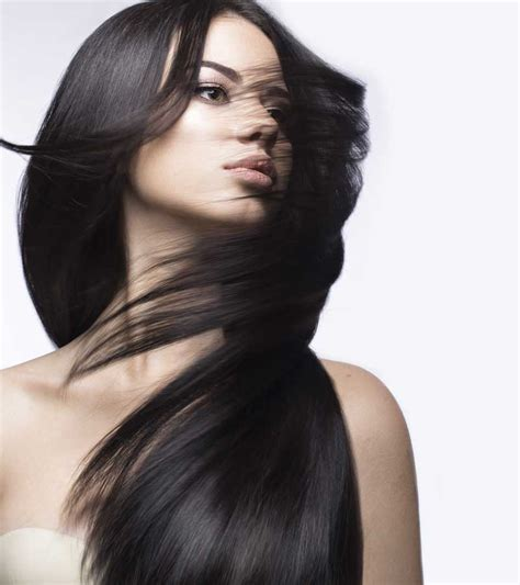 models with stright hair straight rani hair