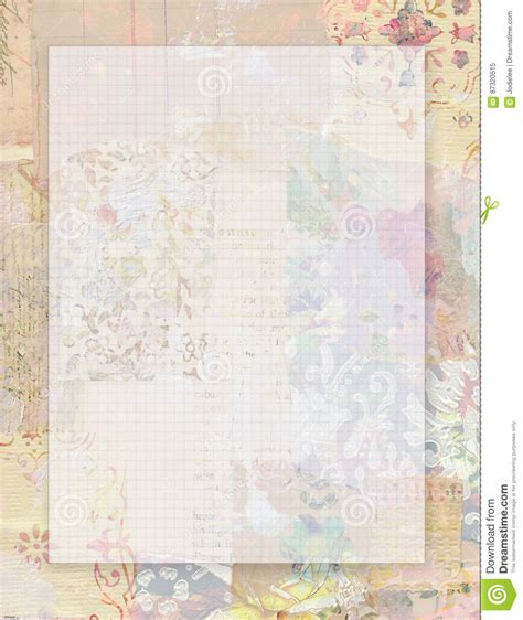 vintage shabby chic l printable vintage shabby chic style floral stationary on