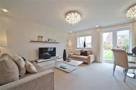 Show Home Living Room Pictures by The Grassham At Grange Audenshaw Wimpey