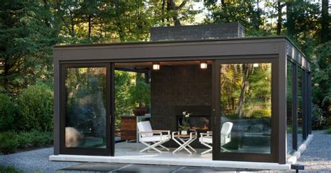glass enclosed fireplace magnificent glass house patio modern design ideas with