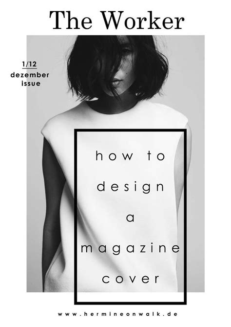 minimalist magazine layout pinterest magazine cover minimal design with a cool font print