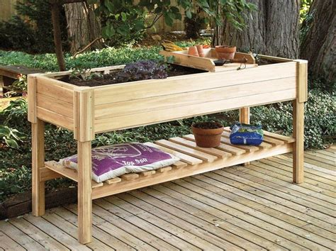 raised garden beds on legs how to build a raised garden bed with legs elevated garden