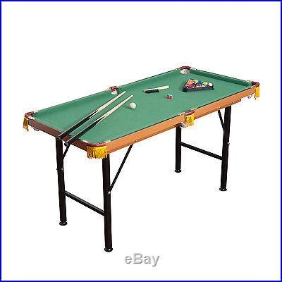 5ft Pool Dining Table Billiards Tables 187 Archive 187 New 4 5ft Mini Foldable Portable Pool Table Billiard Table