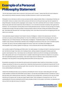 Personal Philosophy Essays by How To Develop Your Personal Philosophy Statement