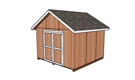 12 By 12 Shed 12x12 Shed Plans Howtospecialist How To Build Step By