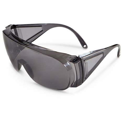 6 pk of safety wear wide view safety glasses 208490