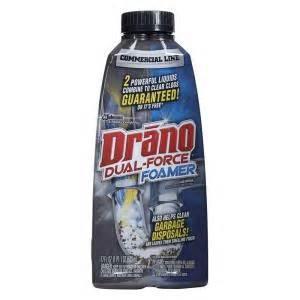 home depot drain cleaner drano 17 oz foaming liquid drain cleaner 014768 the
