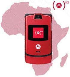 Motorolas Slvr Phone To Fight Aids by Fight Aids With Sprint Motorola Razr Gear Live