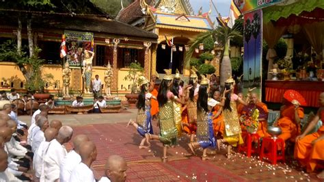 the romdenhs in cambodia khmer new year and doubled gifts
