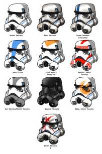 stormtrooper colors stormtrooper helmets by azure arts on deviantart