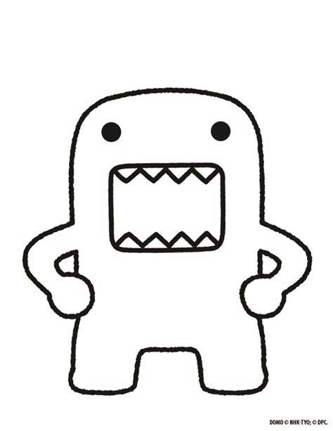 domo doodle drawing design a domo win a domo woozworld news