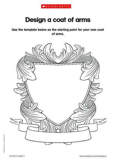 coat of arms template for students the 17 best images about invites on template
