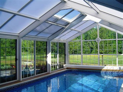 enclosed pools inspiring exles of solariums sun rooms and indoor