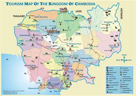 map of cambodia cambodia go southeast asia