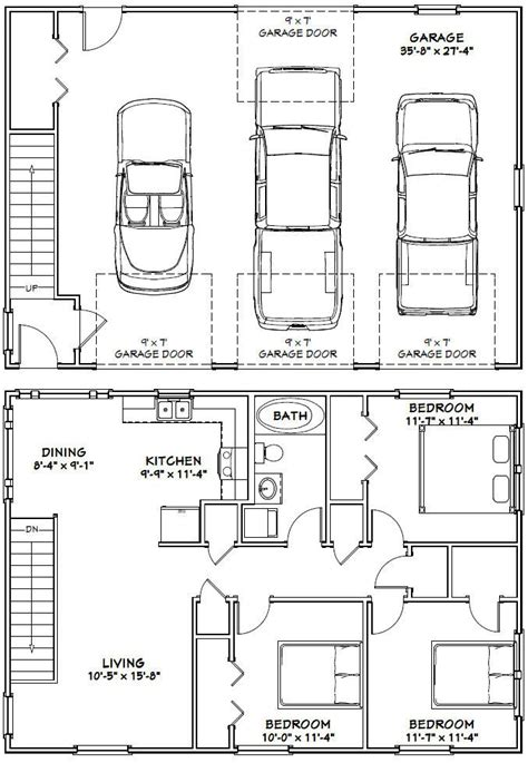 3 car garage size 40x28 3 car garage 40x28g10i 1 136 sq ft