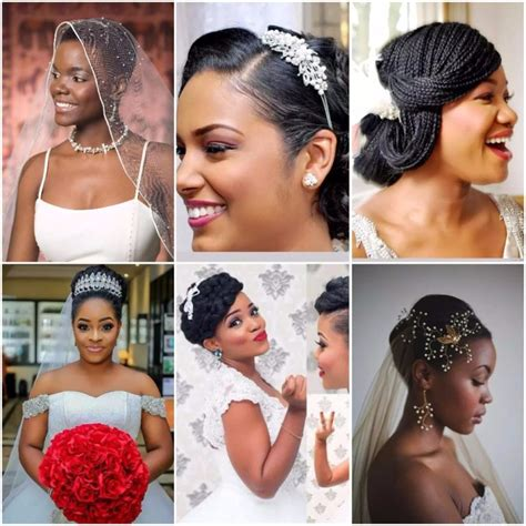 Nigeria Wedding Hair Styles For Round Shape Of Face | checkout best hairstyles for nigerian brides photos