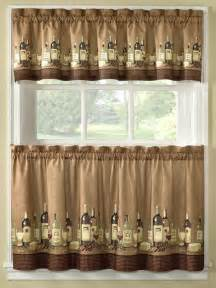 Kitchen Curtains Pictures Wine Theme Wines Kitchen Curtains Ad 1688104 Addoway