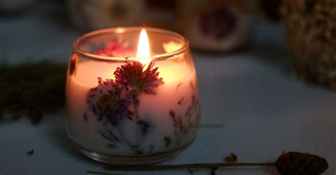beautiful candles how to make beautiful diy dried flower candles