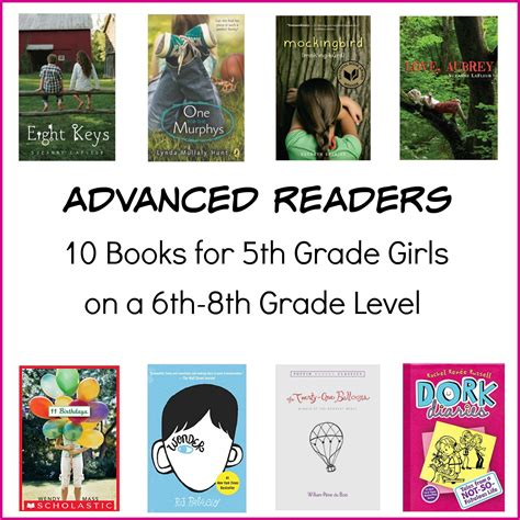 5 Books For A Wide Reader by 10 Books For An Advanced 5th Grade Reader