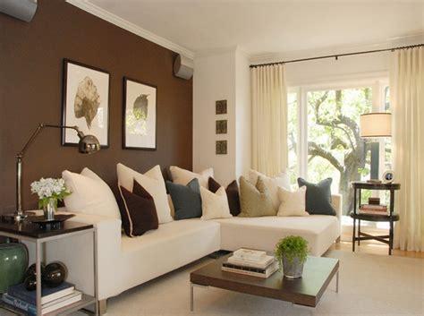 Sofa Warna Coklat desain ruang tamu cantik warna coklat rancangan desain