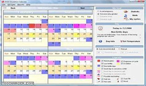 Calendrier Ovulation Et Regle Logiciel Sant 233 T 233 L 233 Charger Des Logiciels Pour Windows