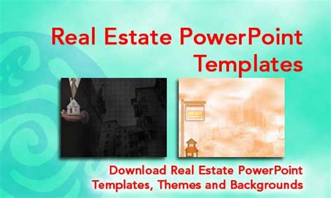 real estate powerpoint templates and themes