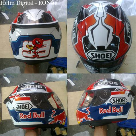 design helm marquez helm marquez custom helmet for your safety style