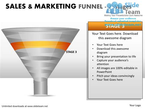 Debt Inside Sales Lead Generation Pipeline Sales Marketing Funnel 7 Sales Pipeline Powerpoint Template