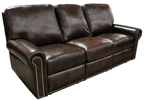 reclining furniture fairfield leather sofa leather