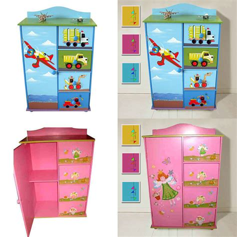 Childrens Wardrobes With Drawers by Children Furniture Boys Chest Of Drawers
