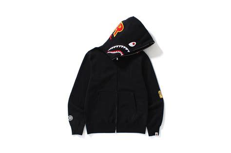 Bape Shark Fullzip Hoodie bape to release 2nd shark zip hoodie capsule