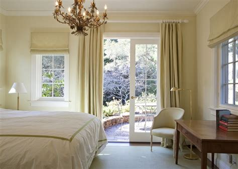 french pleat curtains living room transitional with beige walls white trim