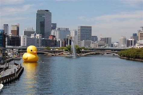 511 Time Rubber oversized rubber ducky bringing oversized smiles to
