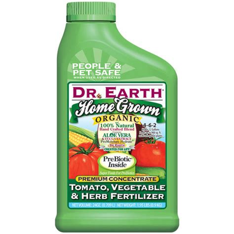 Dr Earth Home Grown Tomato Vegetable Herb Fertilizer Fertilizer For Vegetable Gardens