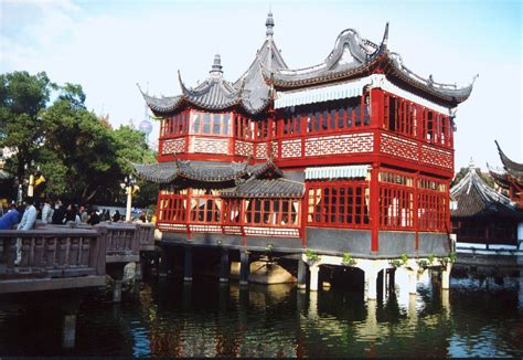 chinese house internchina the famous tea house in the old city of