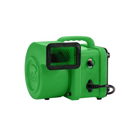 Mini Air 4 b air 1 4 hp mini air mover for water damage restoration carpet dryer floor blower fan in green
