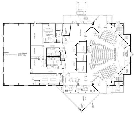 church fellowship floor plans 17 best ideas about auditorium design on