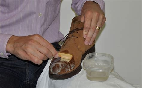 Cleaning A Suede by How To Clean Suede Shoes Luxury Suede Shoe Care Guide