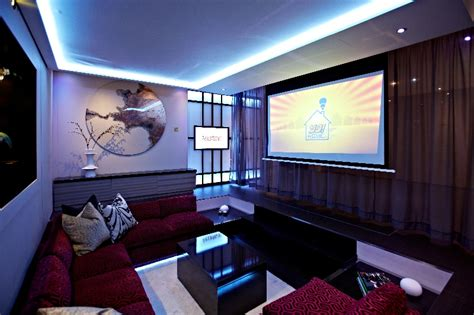 media room ideas modern media room interior design ideas