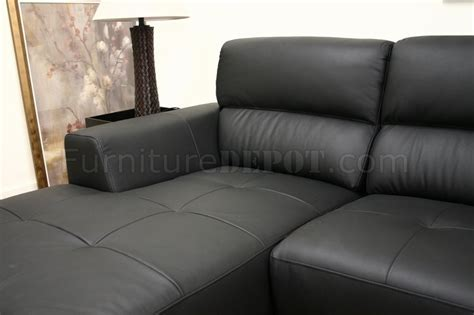 black leather l couch black leather contemporary l shaped sofa sectional w high back