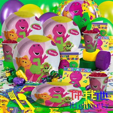 Barney Decorations by Shop Popular Barney Birthday Decorations From China