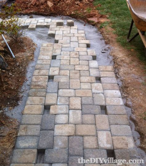 how to install a diy paver path fox hollow cottage